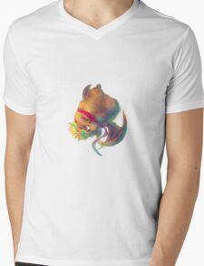 Ikou the Cute Bat Mens V-Neck T-Shirt