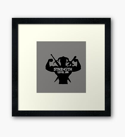 Level 100 Framed Print