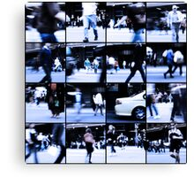 Urban Disturbances Canvas Print