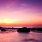 Karon Beach Sunset Pano by Paul Pichugin