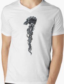 Techno Monkey Totem  Mens V-Neck T-Shirt