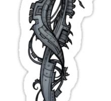 Techno Monkey Totem  Sticker