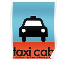 Taxi Cab - Poster Poster