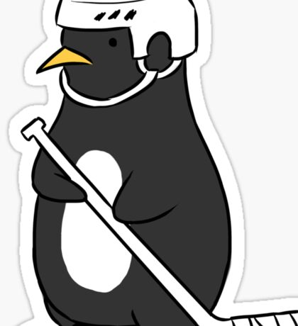 a pittsburgh penguin Sticker