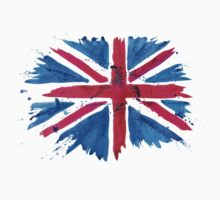 Watercolor Flag of the United Kingdom of Great Britain and Northern Ireland Kids Clothes