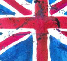 Watercolor Flag of the United Kingdom of Great Britain and Northern Ireland Sticker