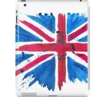 Watercolor Flag of the United Kingdom of Great Britain and Northern Ireland iPad Case/Skin