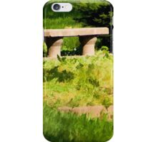 Old Park Bench iPhone Case/Skin