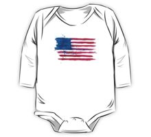 Watercolor Flag of the USA Kids Clothes