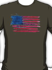 Watercolor Flag of the USA T-Shirt