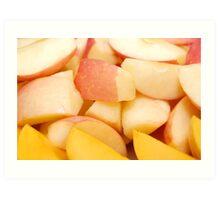 Fruits: Apples and Mangoes Art Print