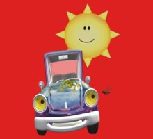 Fun Day Out .. the sun shines on the cute car Baby Tee