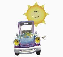 Fun Day Out .. the sun shines on the cute car by LoneAngel