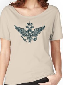 Coat of Arms of Russian Empire Women's Relaxed Fit T-Shirt