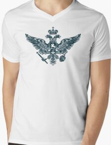 Coat of Arms of Russian Empire Mens V-Neck T-Shirt