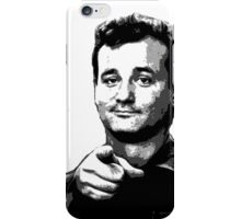 Awesome Bill Murray - Ghostbusters - Street art Graffiti Popart Andy warhol by Jonny2may iPhone Case/Skin