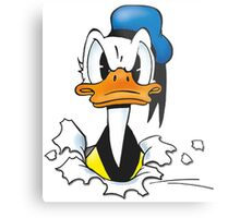 Donald Duck Metal Print