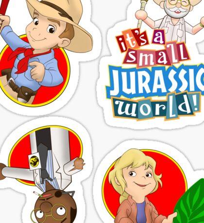 It's a small Jurassic World (sticker set JP1) Sticker