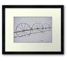 Old Snowmass Field Framed Print