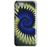 Blue Spiral iPhone Case/Skin