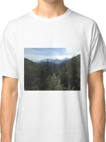 Mountains and rolling hills Classic T-Shirt