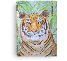 Tiger in Jungle Canvas Print