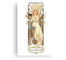 Nouveau Guinness Canvas Print