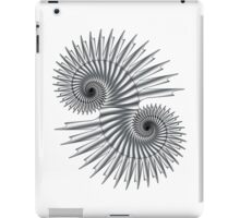 Double Spiral 01 iPad Case/Skin