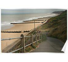 Halfway rest Overstrand Norfolk coast Poster
