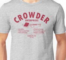 Crowder Enterprises (Maroon) Unisex T-Shirt