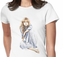 """Hippy Girl"" by Sara Moon Womens Fitted T-Shirt"