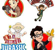 It's a small Jurassic World (sticker set JP2) by Robiberg