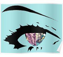 Crystal Iris (Eye) Poster