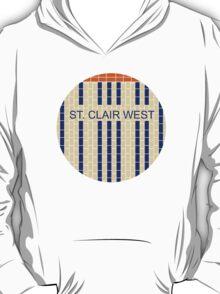 ST. CLAIR WEST Subway Station T-Shirt