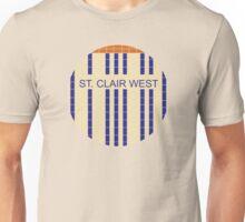 ST. CLAIR WEST Subway Station Unisex T-Shirt