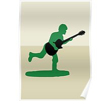 Guitar Soldier Poster