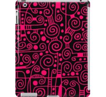 Abstract 040512 - Neon Red iPad Case/Skin
