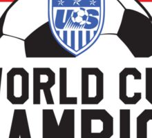 United States (USA) Women's FIFA Soccer World Cup Champions 2015 (USWNT) Sticker