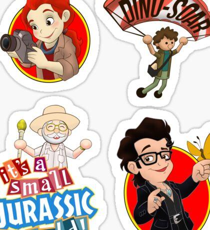 It's a small Jurassic World (sticker set JP2) Sticker