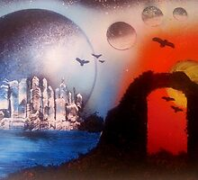 City(E)scape by SpacedPainter