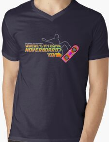 Where's my damn hoverboard Mens V-Neck T-Shirt