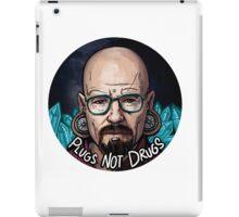 Plugs not Drugs iPad Case/Skin