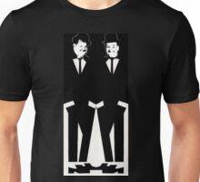 Two Tone Laurel & Hardy Unisex T-Shirt