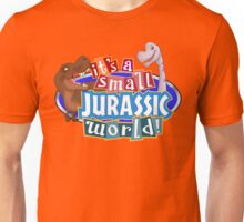 It's a Small Jurassic World (Logo w dinos) Unisex T-Shirt