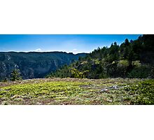 On the Causse Photographic Print