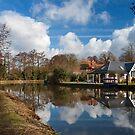 Wey Navigation, Weybridge, Surrey by Rachael Talibart