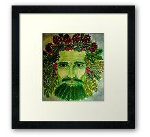 Holly King Framed Print