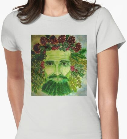 Holly King Womens Fitted T-Shirt