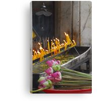 The offering. Canvas Print