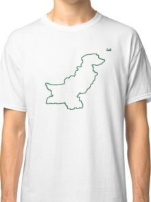 """Pakistan """"Citizen of the Earth"""" large Classic T-Shirt"""